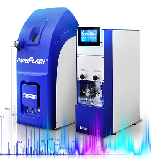 Mass spectrometers puriFlash MS chromatography