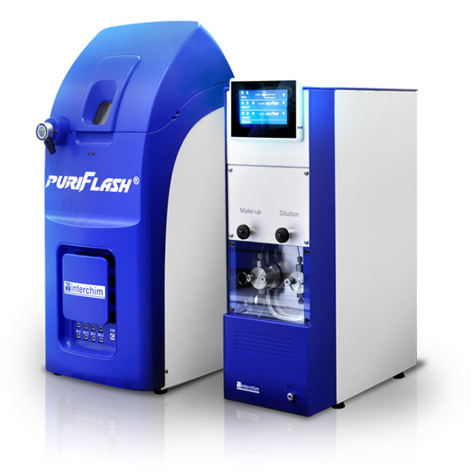 Mass spectrometers puriFlash MS spectrometry