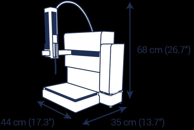 Autosampler puriFlash AS-1 chromatography