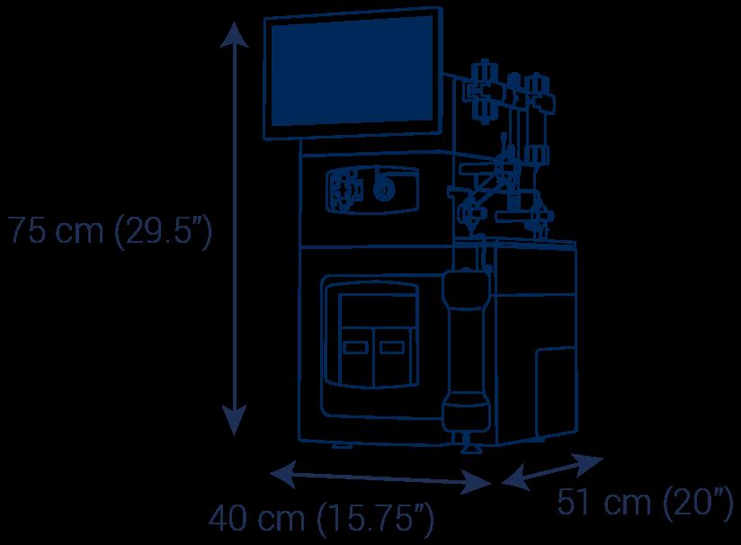 Preparative HPLC puriFlash 5.250 purification