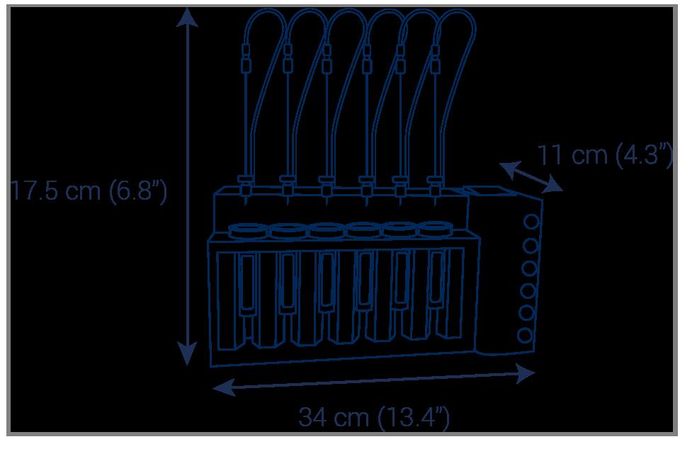 Evaporator puriVap-6 purification